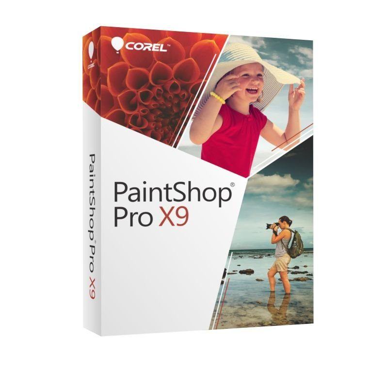 COREL Bildbearbeitungssoftware »PaintShop Pro X9«